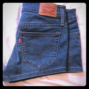 Levi's jean shorts size 27'. Very rare find.